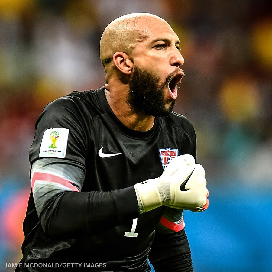 Six years ago today, Tim Howard recorded 16 saves against Belgium🧤   Still a World Cup record! @ESPNFC https://t.co/xl9Zk9QsMD
