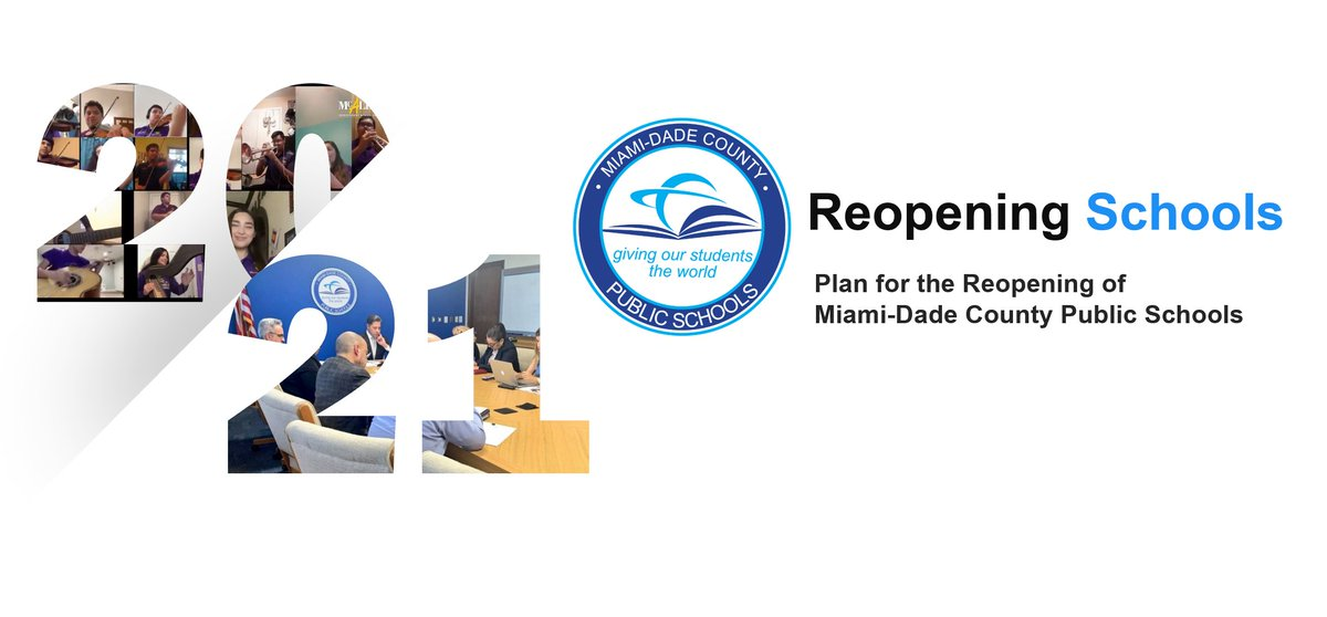 The #MDCPSReopening plan is comprehensive in nature and incorporates guidance from national, state & local experts. This plan hinges on conditions in the local community & whether or not @MiamiDadeCounty is in Phase 2 of reopening according to The Plan for Florida's Recovery. https://t.co/3M1e6Bg7sr