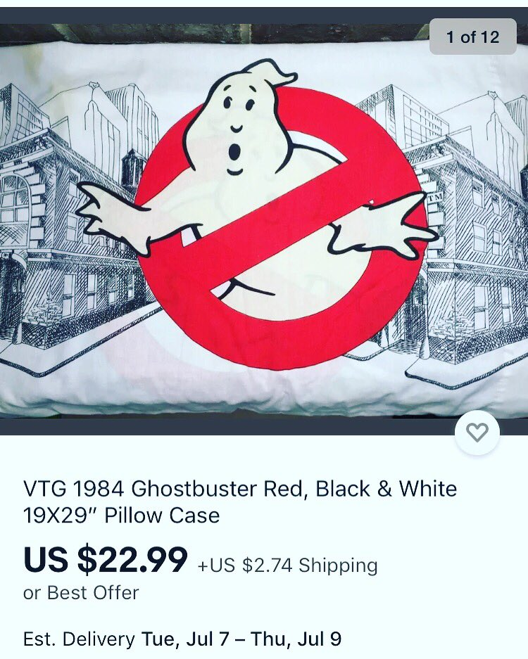 New Inventory Listed! - A VTG 1984 Ghostbusters Pillowcase  Details are shown in the photos and description. (Store Link is in my bio) Check out VintageLuxBoutique on eBay  for a wide-range of high quality items & great deals! #ghostbusters #retrocollector #vtgcollector #80spic.twitter.com/ttJClL75bV