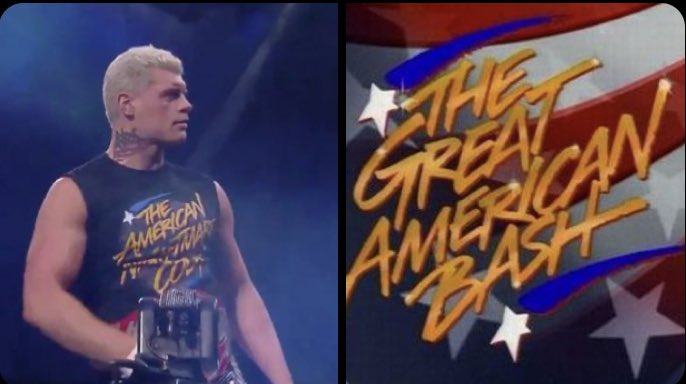 """People are complaining about Cody's shirt like the show wasn't HIS DAD's idea. This literally isn't """"taking shots"""", it's paying tribute. This isn't an AEW vs. WWE thing. pic.twitter.com/J7EdGhoMEX  by Dan Botelho"""