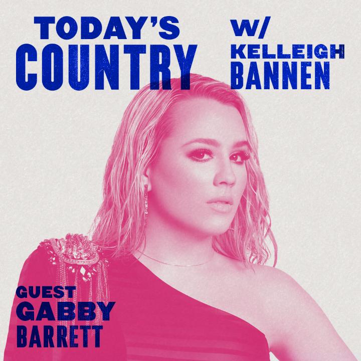 #Goldmine on repeat. 🔂 @GabbyBarrett_ talks new tunes with @kelleighbannen on #TodaysCountry. Listen: https://t.co/p95H0xjCw2 https://t.co/BO0gc7vwpu