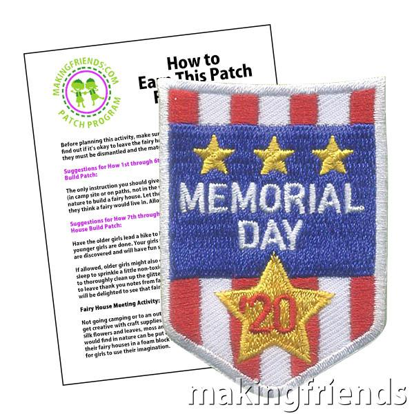 Did your troop commemorate Memorial Day in 2020? These patches are on clearance and will be sold out soon! https://tinyurl.com/md2020patch  #memorialday #memorialday2020 #weremember #clearance  #makingfriends #girlscoutswaps #swaps #tradition #girlscoutbadges  #girlscouts #scoutspic.twitter.com/c4VSw39XQB