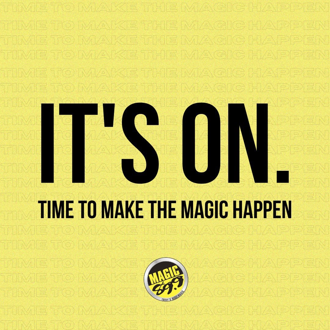 You have a whole new month to start over and make Magic happen! ✨ #BeTheMagic