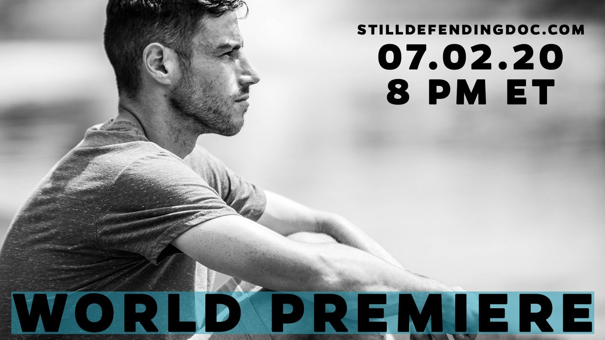 The waiting is almost over ⏳  #StillDefendingDoc premieres tomorrow at 8 p.m. ET on https://t.co/sPxCcKWrPb. https://t.co/Cqriqa4QVu