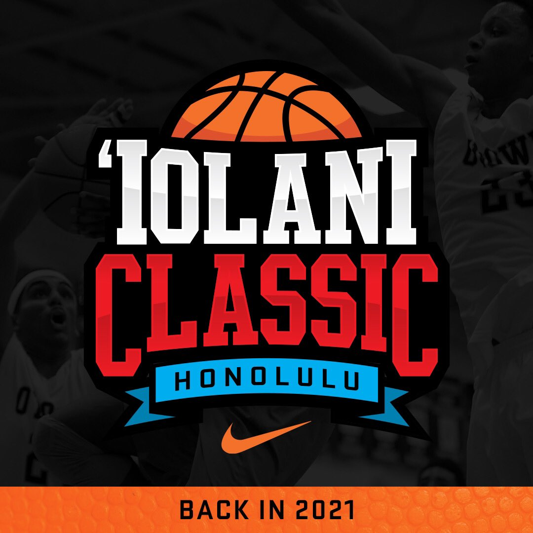 The #iolaniclassic, which annually features some of the premier boys and girls programs in the nation, will not be held this December. The health and safety of student-athletes, coaches and fans is our foremost concern, amid the uncertainty of the COVID-19 situation. #backin2021 https://t.co/1dLGF0UjzC