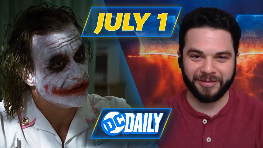 Some men just want to watch the world burn, others just want to watch #DCDaily 🃏 Join the crew for a look at THE DARK KNIGHT 🦇 https://t.co/aCMEXl4VDy https://t.co/EUQQu19T0s