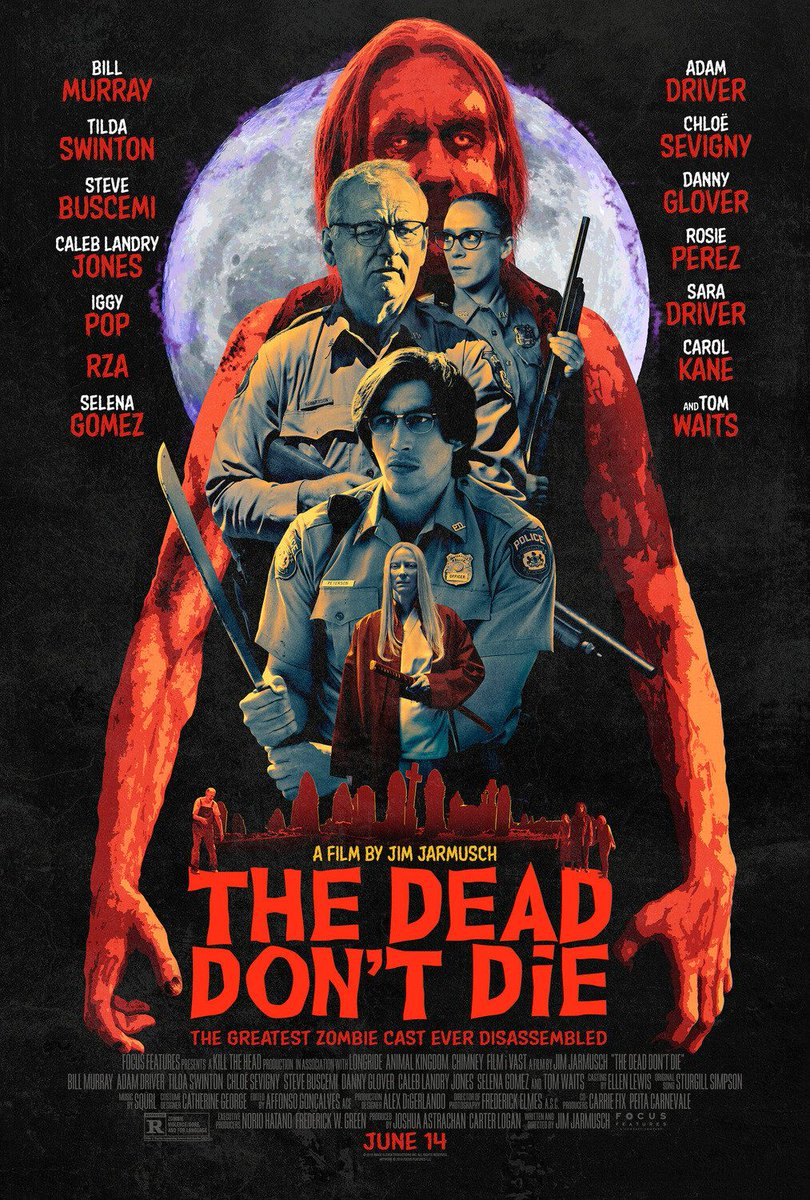 If one can both confuse and infuriate with such a simple task as naming a film it is safe to assume that this confusion will continue into the viewing experience. And it does! #FilmTwitter #FilmReview #TheDeadDontDie https://t.co/ptUSokwiih https://t.co/E5lHOQdELn
