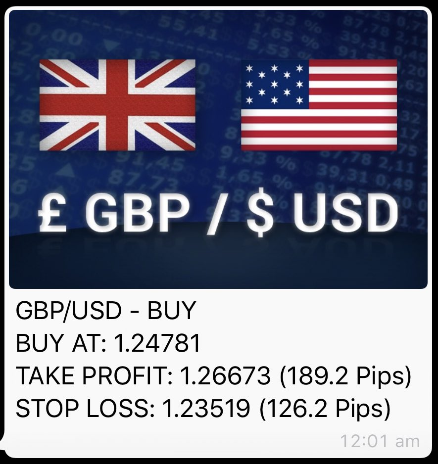 Get our Signals via WhatsApp, Join Here: https://t.co/QwLRCXqxgS  #Forex #ForexSignals #Signals #News https://t.co/N1iY10MtaL