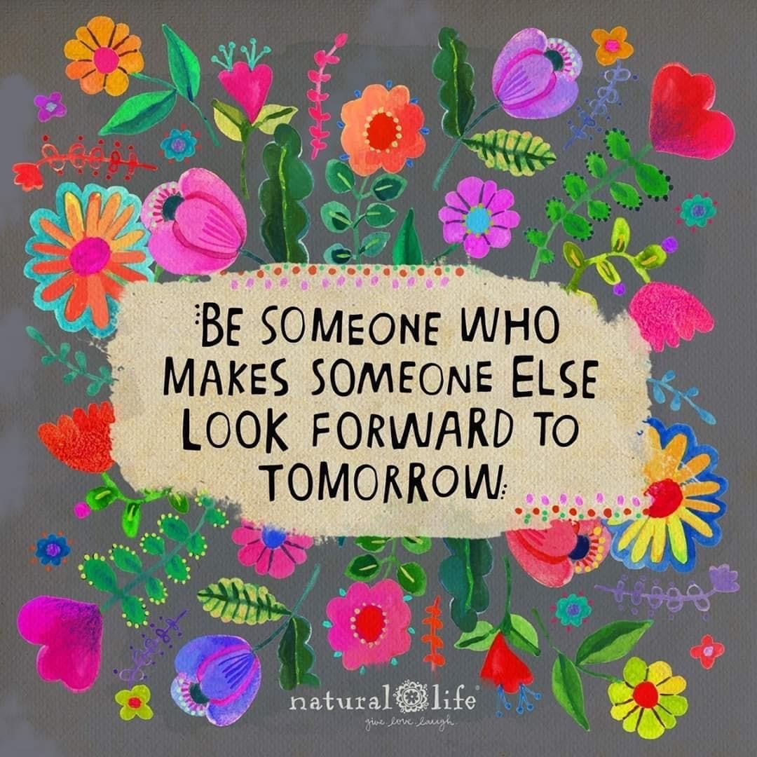 People living with more advanced #dementia may not remember yesterday, but our #kindness can help them look forward to tomorrow.  (image: @MentalHealthMO) #Alzheimers #caregiving #mentalhealth #happiness