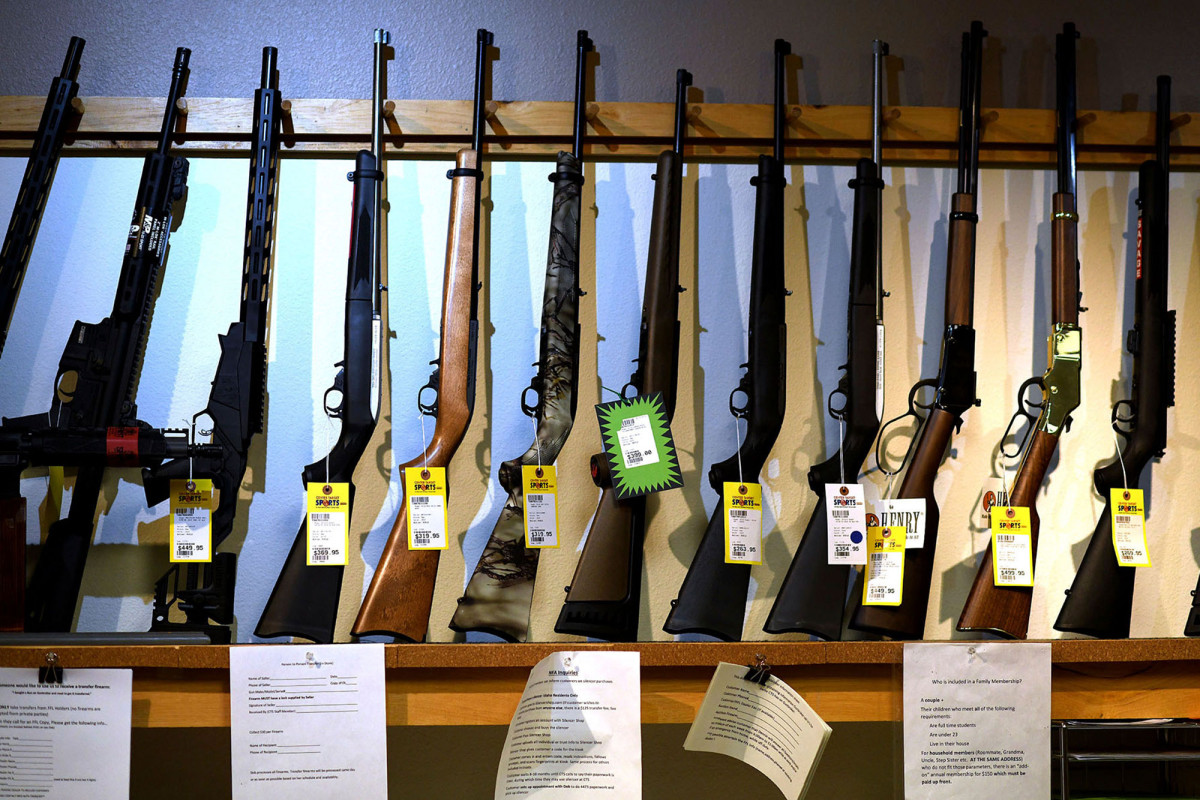 Gun background checks soar to all-time high amid national unrest https://t.co/XzdcjwSVsv https://t.co/u2dAz6u5c7