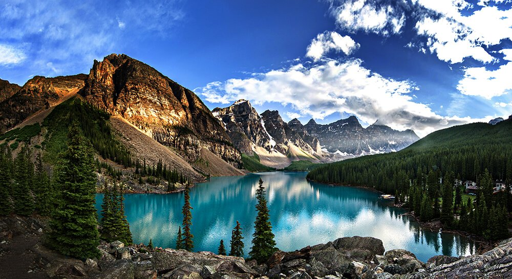 #BEAUTIFULPLACES   #BEAUTIFULHOME  THIS #CANADADAY  Enjoy this beautiful #landscape of the Lake Moraine in #ALBERTA #CANADA pic.twitter.com/ZQdEyCY57Y  by MEN STYLE CLUB
