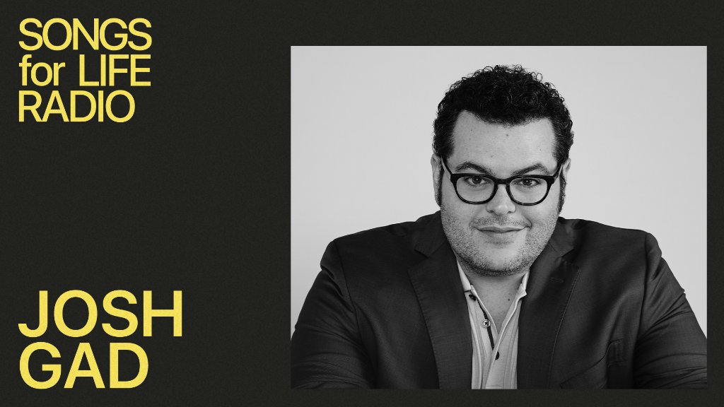 .@joshgad shares 10 songs that have been the soundtrack to key moments in his life. Listen to the debut of #SongsForLife with @zanelowe, only on @AppleMusic. https://t.co/eDcaSu6Ph4 https://t.co/3sdygTPLL2