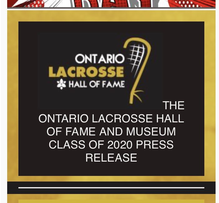 Congrats to my cousin Steve McCullough on being inducted into the Ontario Lacrosse Hall or fame #Lacrosse #ontariolacrosse  #Brampton #halloffame https://t.co/TuYw9HiGO6