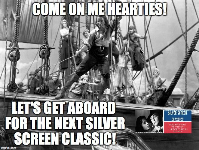 Thinking about a blogathon - A Swashbucklathon! Need to lift spirits (including my own). Anyone interested? @FilmBlogPosse pic.twitter.com/ZeoP05m2sC