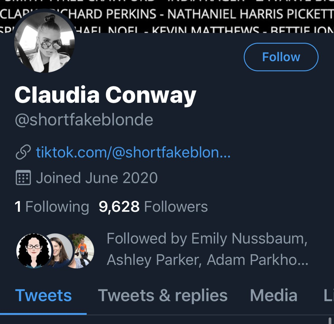 George Conway On Twitter This Account Shortfakeblonde Is A Fake Account Purporting To Be My Daughter S Please Report It So That It May Be Taken Down Thank You Https T Co R5i3kbqap2