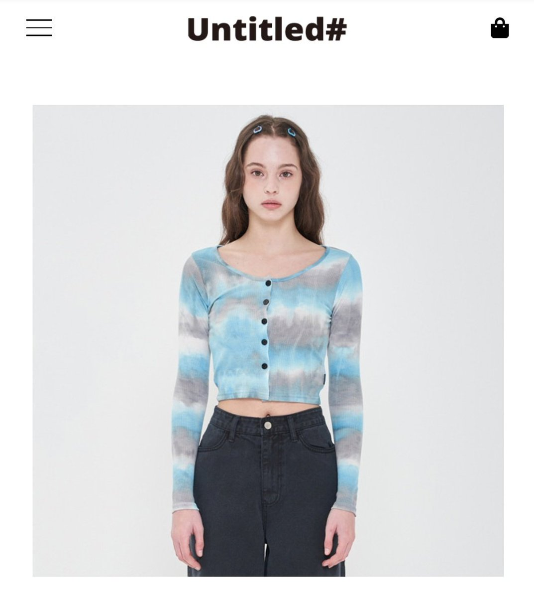 """200703 The tie dye cardigan that Jennie wore on her Instagram story sold out the night after she uploaded; the website is now taking reservations until July 20. They tagged it as """"#JENNIE  Wear"""" (as worn by Jennie) @BLACKPINK<br>http://pic.twitter.com/st9AvQYsst"""