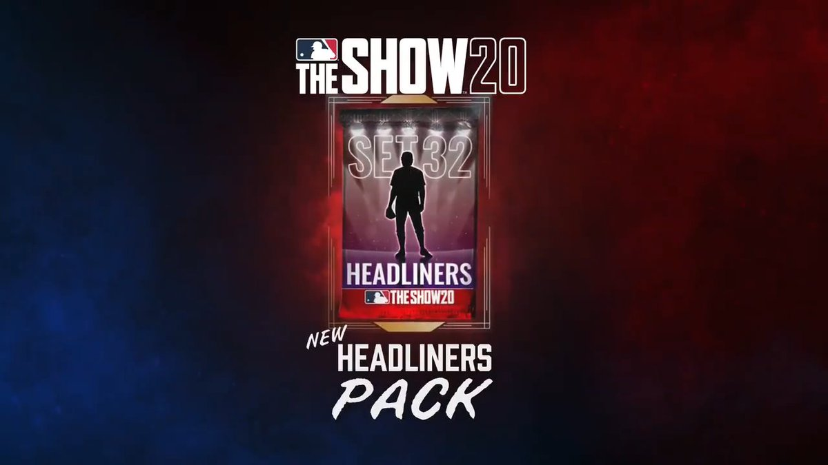 Headliners Pack - Set 32: ?????? ???? ?????? Get MLB The Show 20 Today: Play.st/MLBTS20 #TheShow20 #WelcomeToTheShow #TheShow #MLBTheShow20 #MLBTheShow