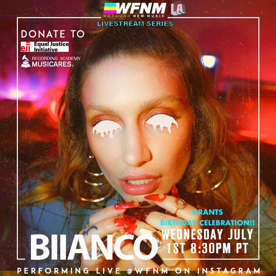 .@janellekroll plays our livestream showcase at 8:30pm PT tonight benefiting @musicares & @eji_org on the WFNM livestream at https://t.co/Mrc13L94sB to celebrate @GrantOwensMusic's bday! https://t.co/lVAvGJiOgy