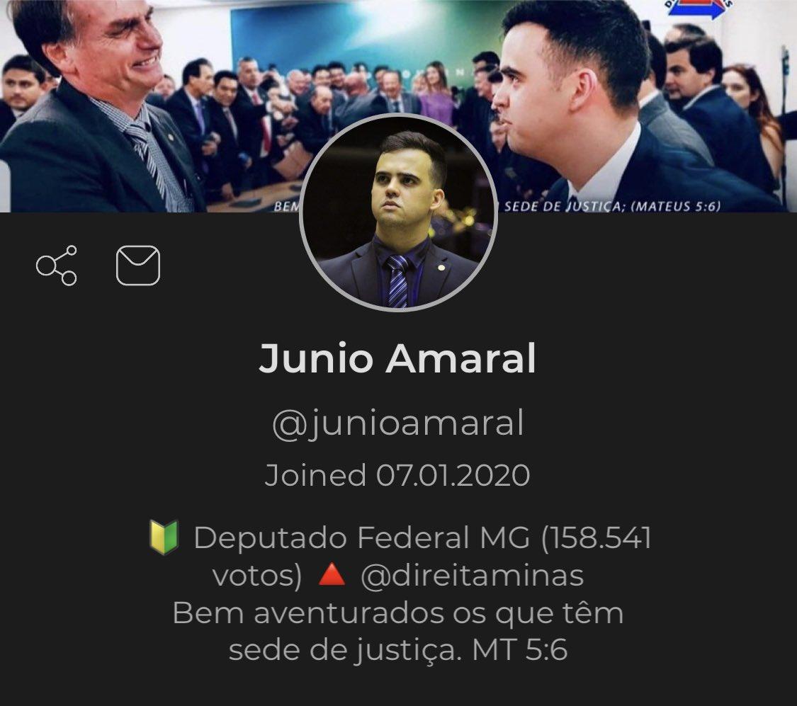 Aderi ao Parler pela promessa de liberdade de expressão, algo que não vemos muito em outras redes. Quem quiser acompanhar por lá. #parlerbrasil