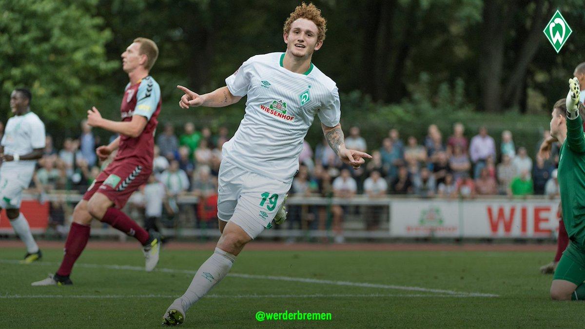 1st Leg Relegation playoff Thursday for Werder Bremen and Josh Sargent. 1:20 pm on FS2