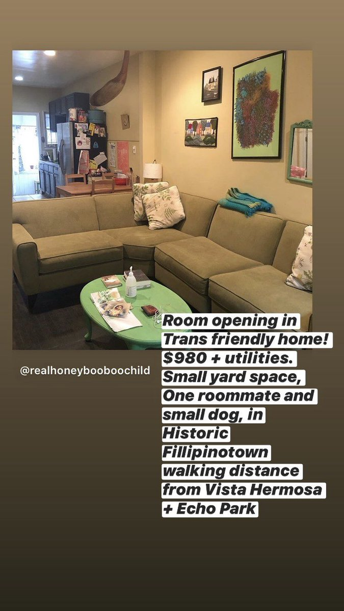 if anyone in LA is looking for housing!!