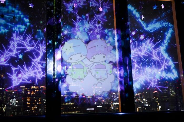 東京タワーでキキ&ララの特別プロジェクションマッピング上映🗼🌠💐✨カフェでもコラボ🍦😋💙💗#東京タワー #サンリオ▼写真・記事詳細はこちら