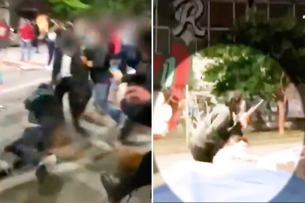 """""""This is kind of a nightmare."""" Seattle police release video of violence in CHOP zone https://t.co/vh1sZRWtOr https://t.co/uWHduukhbC"""