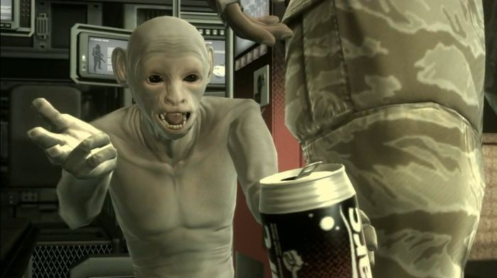 METAL GEAR FAVORITE CHARACTER POLL  #20 LITTLE GRAY AKA THE MONKEY FROM MGS4 (16 votes) <br>http://pic.twitter.com/p05H9B5LaM