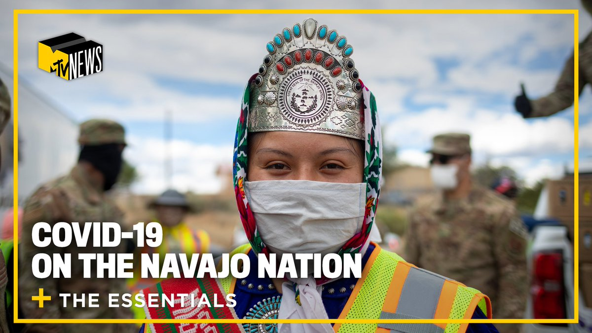 We're highlighting young people on the frontlines of the coronavirus pandemic with #TheEssentials. @Dometi_ talked to Miss Navajo Nation @ShaandiinP_ and Tosheena Nez about how COVID-19 hit the Navajo Nation, and their dedication to uplifting the people and place that raised them