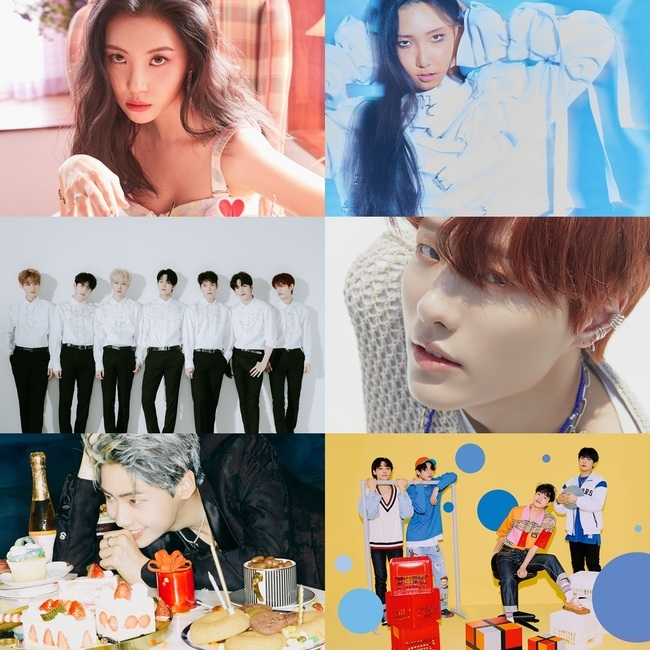 A hot line-up on MCountdown today!  SUNMI, HWASA, SEVENTEEN, AB6IX, VERIVERY, WOODZ & LEE JIN HYUK will be making their comeback  DAY6 Wonpil & Dowoon to reinterpret the song 'Today' as well  Source:  https:// entertain.naver.com/now/read?oid=6 09&aid=0000296274  … <br>http://pic.twitter.com/q1wuxBKlpu