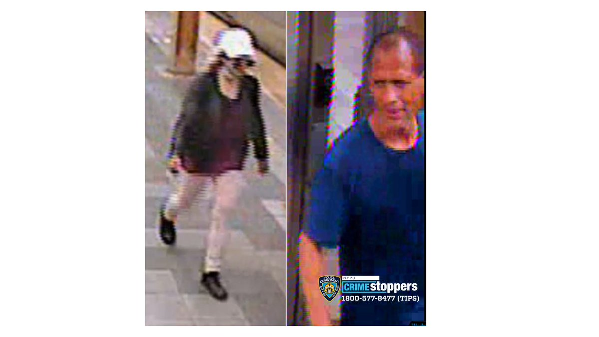 🚨WANTED🚨for GRAND LARCENY 7th Ave/34th Street subway station #Manhattan @NYPD14Pct #NYPD On 6/10/20 @ 2:30 PM💰Reward up to $2500👓Seen these people? Know who they are?☎️Call 1-800-577-TIPS or DM us! Calls are CONFIDENTIAL! #YourCityYourCall @NYPDDetectives #NYPD https://t.co/EOE9r6VML1