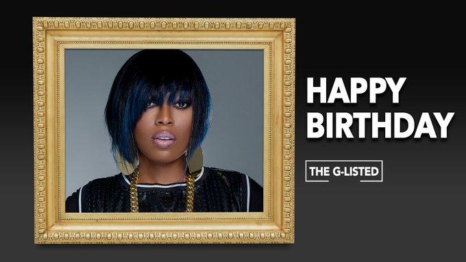 Happy birthday to rap music legend Missy Elliott!!!