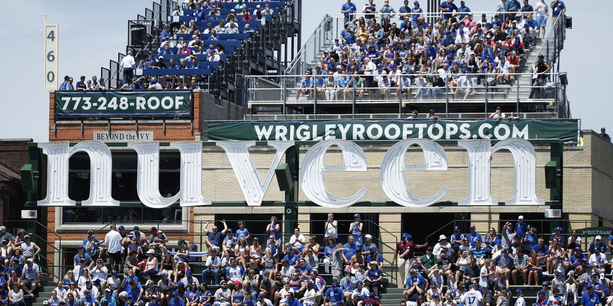 Wrigley rooftops will reportedly host fans for Cubs' home games. thesco.re/2VEvDTr
