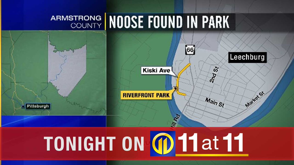 A local community is sending a strong message after a noose was found in a park. On 11 at 11, @amy_hudak explains the steps officials are taking. https://t.co/nvEmfOng62 https://t.co/YExroJ1s53