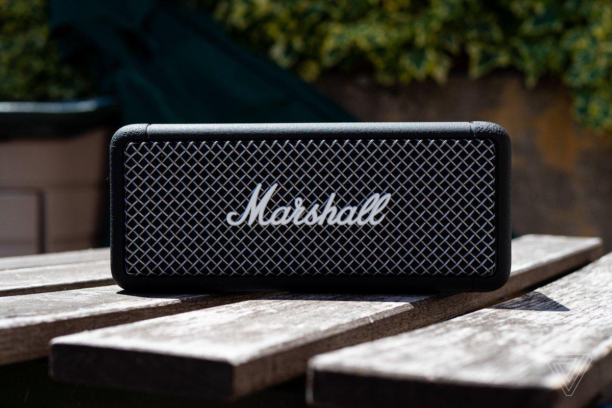 Marshall's Emberton is a basic but brilliant Bluetooth speaker