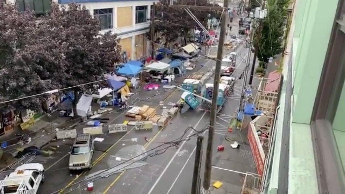 Конец Автономной Зоны Сиэтла