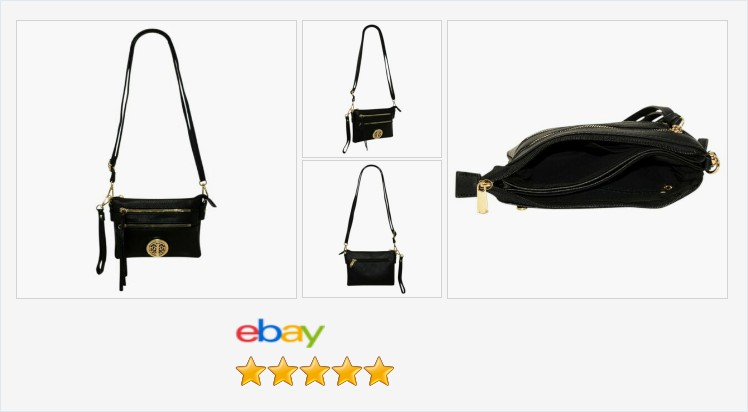Brand New black faux leather zipped Crossbody - Shoulder bag | eBay #fauxleather #crossbody #shoulder #bags #fashion #accessories #gifts #giftideas #giftsforher #handbags  https://www.ebay.co.uk/itm/313117768548…pic.twitter.com/FFpW12Opvv