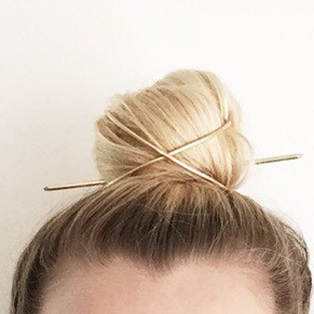 Women's Classic Gold Hairpin #followme #me