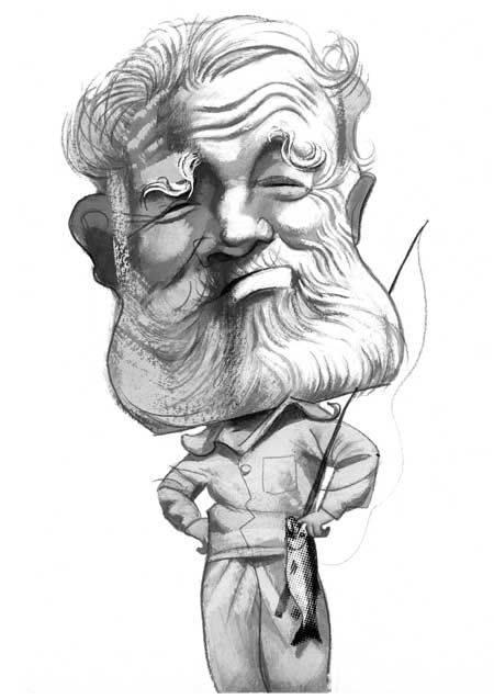 #TalDíaComoHoy en 1961 muere el novelista norteamericano #ErnestHemingway, Premio Pulitzer 1953 y Premio Nobel 1954 Uno de los principales #novelistas y #cuentistas del siglo XX. #FGSR Il. @FVicente_Illust  @CanalLector te propone 'El viejo del puente' https://t.co/BX2ar6RPqT https://t.co/ScStRZJDx6