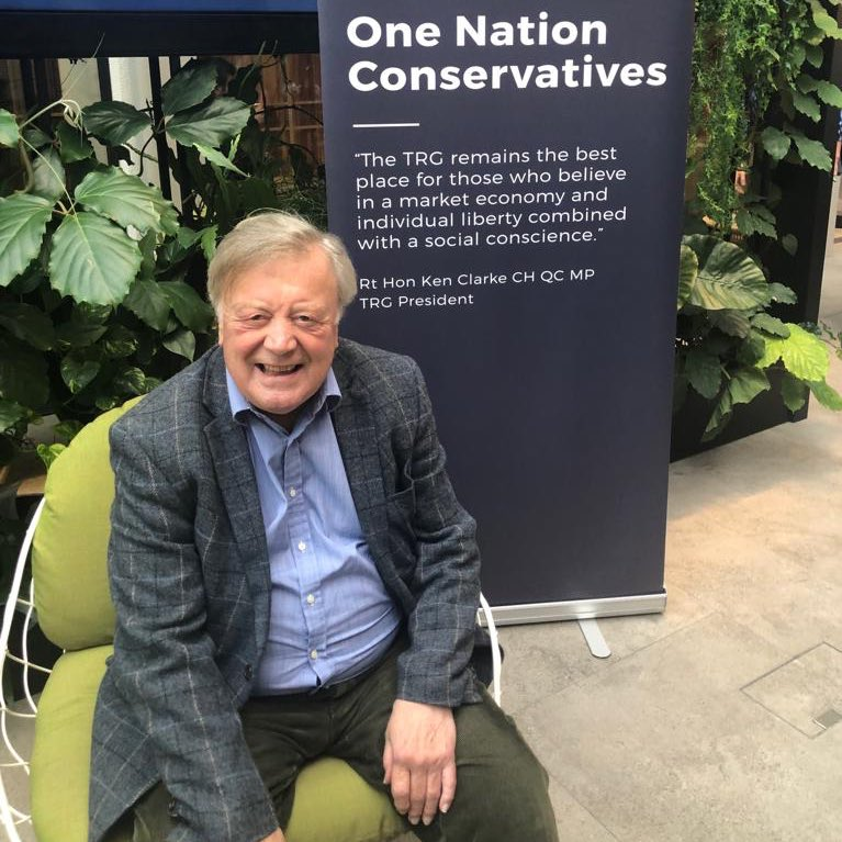 A very HAPPY BIRTHDAY to our President, Ken Clarke, today on his 80th birthday! Not only a huge champion of @ToryReformGroup and One Nation values but a living legend in our party! Wishing him a great day from all of us here