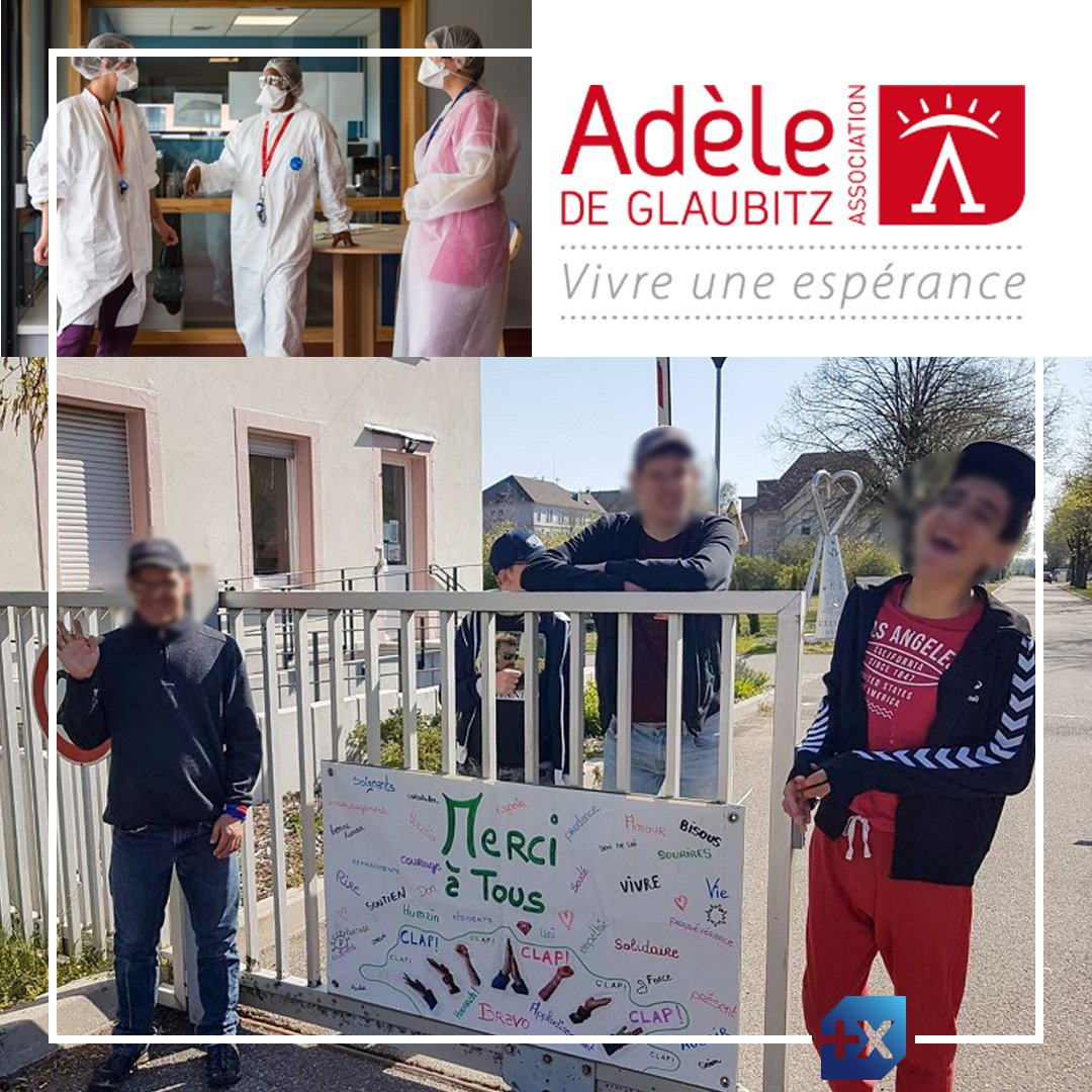[Une banque plus engagée] 🤝 L'Association Adèle de Glaubitz accueille des enfants et des adultes en situation de handicap et de grande dépendance. Nous avons débloqué une aide financière afin de les soutenir dans le cadre de Trait d'Union, notre campagne de dons. https://t.co/SSYxGSnsnh