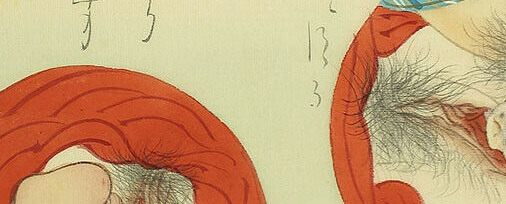 'Intercourse close-ups' (Meiji era). You can check out the COMPLETE image and more explicit intimate encounters (+more close-ups!) by clicking this link now >>> https://shungagallery.com/meiji-shunga-scroll/…  #shunga #peniscloseup #vaginacloseup #erotic #cunnilingus #intercoursecloseup #shungapaintingspic.twitter.com/qeSBmQJ6kL