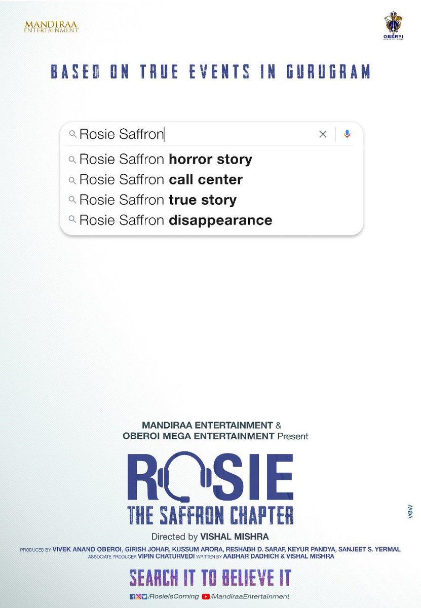 All the best to the entire team of Rosie @mishravishal @vivekoberoi @d_reshabh #PrernaVArora @mandiraa_ent