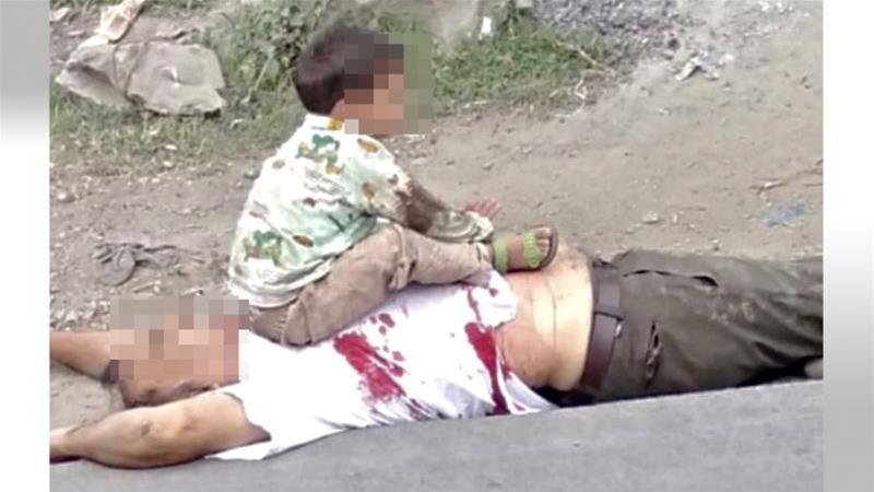 Viral photo of toddler sitting on his grandfather's body angers Kashmir https://aje.io/u2enhpic.twitter.com/ALf3ysrzIP  by Al Jazeera English