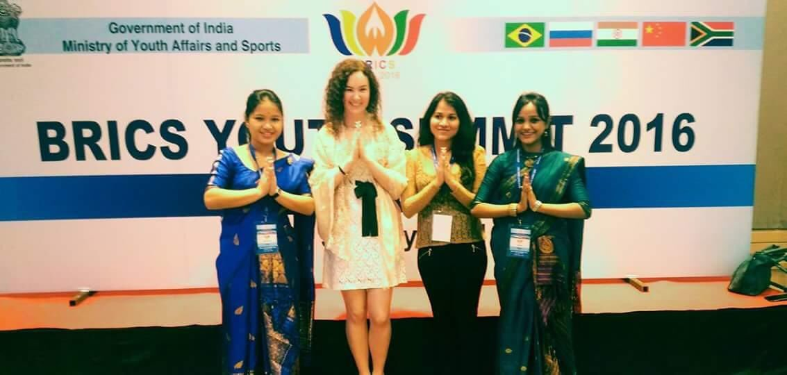 The honour to represent #Bharat in BRICS Youth Summit remains cheriable even after 4 years  My Country my Pride !  <br>http://pic.twitter.com/RS85XPQ3BD – à Taj Vivanta