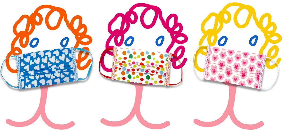 Hoy se ponen a la venta las mascarillas solidarias de @lidlespana diseñadas por @agathardlp. Con su apoyo, seguiremos ayudando a la infancia y las familias vulnerables en la crisis actual, dándoles refuerzo educativo y transferencias directas para la compra de alimentos #ATuLado https://t.co/lXgUI2YWjm