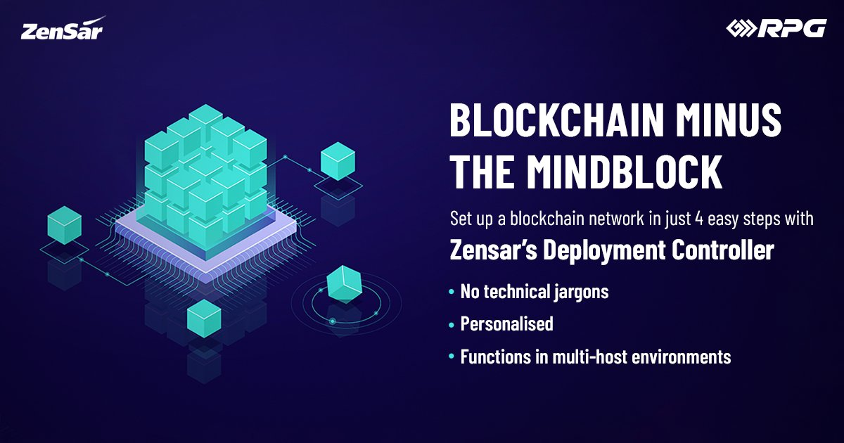 If you haven't heard it yet, Blockchain is the technology of the future. Zensar Technology is making Blockchain accessible to all! In a world that's ever transforming, we are helping businesses thrive with this simple digital solution.