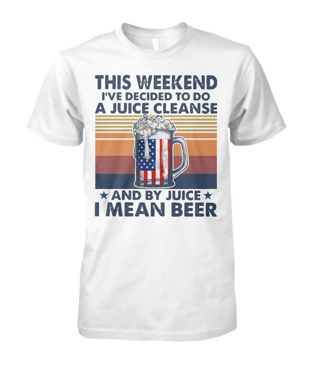 THIS WEEKEND I VE DECIDED TO DO A JUICE CLEANSE AND BY JUICE I MEAN BEER VINTAGE   Buy here: https://buff.ly/2ZoCZeW  Available in Multiple styles and colors #viralstyle #usa #us #tshirt #hoodie #tee #hottrend #quote #shirt #shirts #shirtless #shirtlessguys #shirtdesign pic.twitter.com/zz6Tfs1iEz