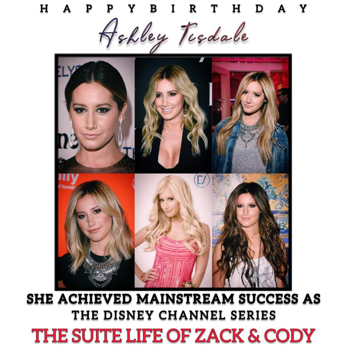 Happy Birthday Ashley Tisdale