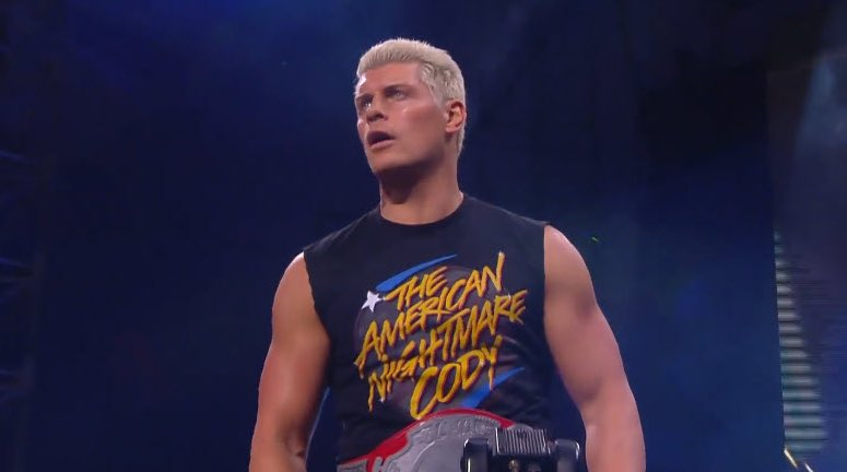 """Big ole """"fuck you"""" from Cody and AEW to WWE  pic.twitter.com/4h9Ct1la8J  by susan marasciulo"""
